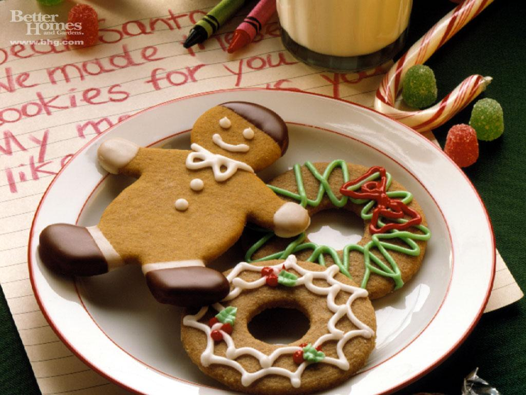 Free christmas desktop wallpaper: Christmas Cookies ...