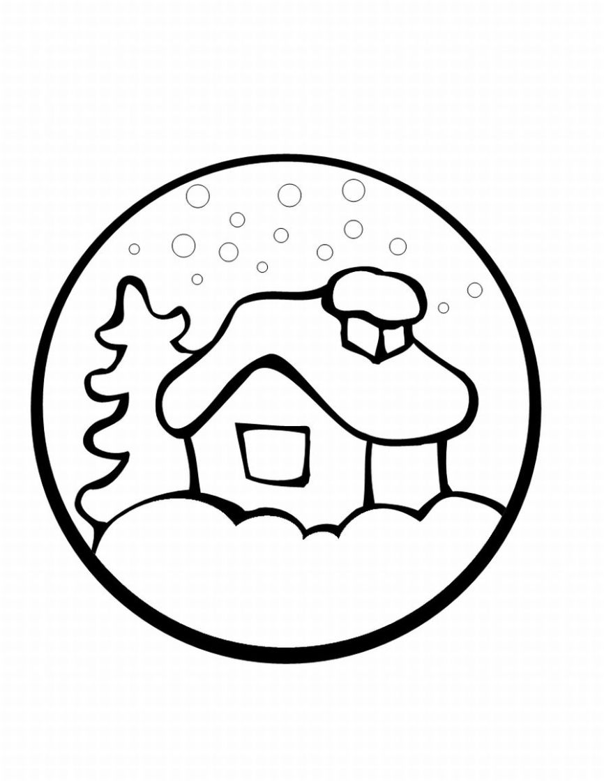 preschool christmas coloring pages # 83