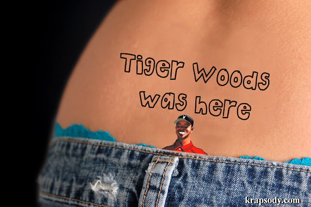 tiger woods tramp stamp / tiger woods mistresses / tiger woods penis