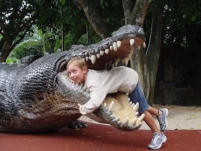 Rune og Nicolai i Vest Australien: Hvem sagde farlige dyr ? ferie del 1.