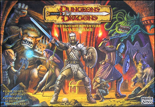 Dungeons And Dragons Spiel