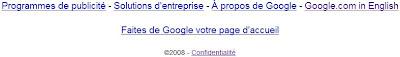 confidentialite chez google