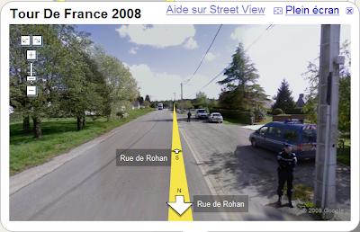 street view tour de france 2008