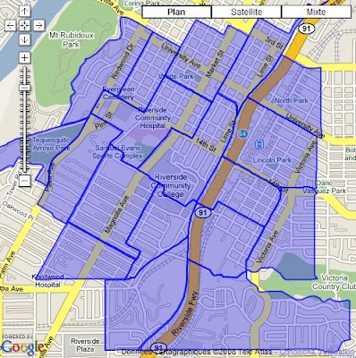 API ArcGIS pour Google Maps