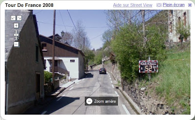 google maps street view en france