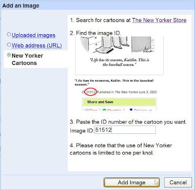 google knol insertion images