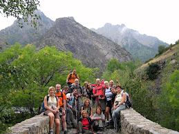 El nostre grup d'excursionistes