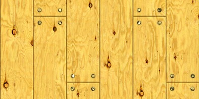 Wood Floor Seamless Texture With Nails