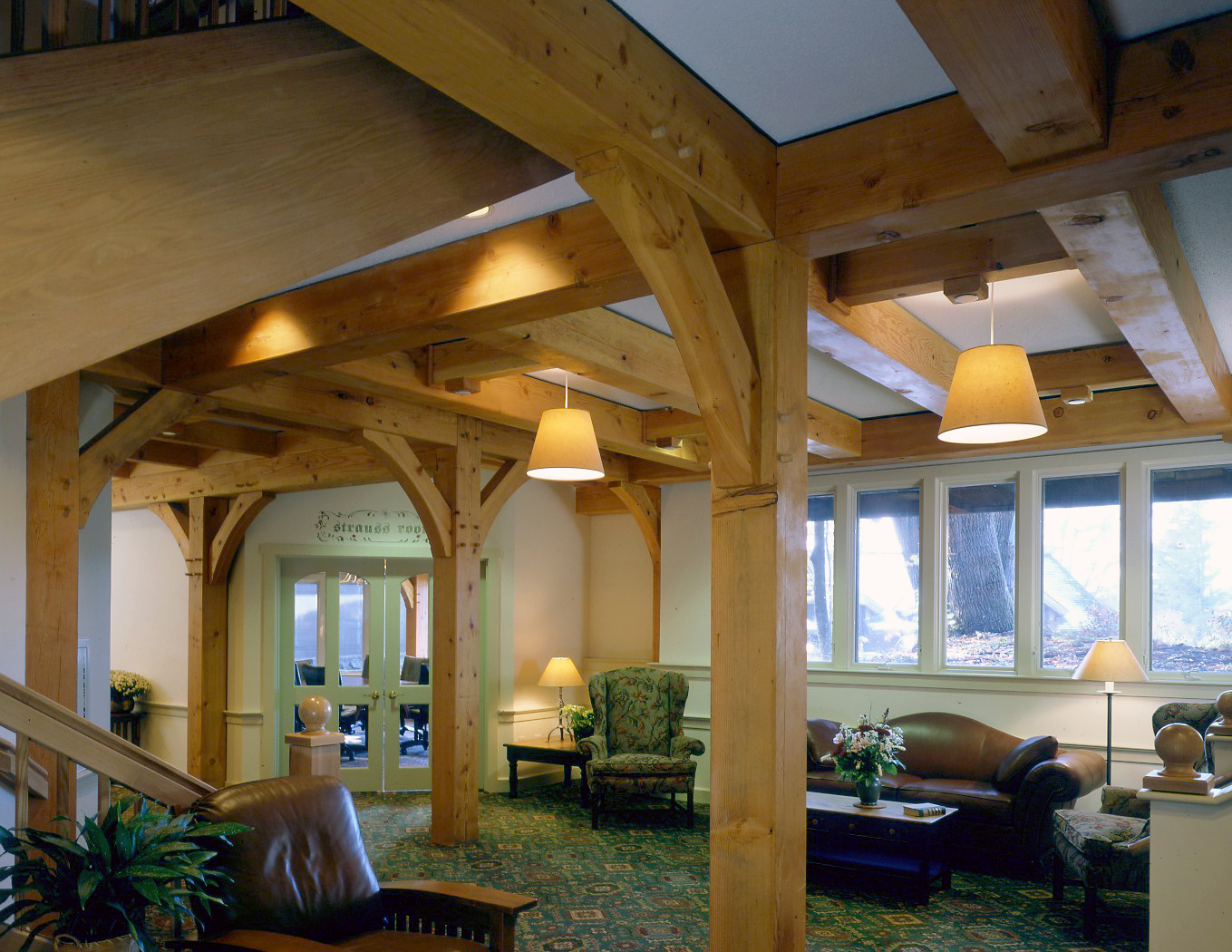 Beautiful Heavy Timber Construction By Vermont Timber