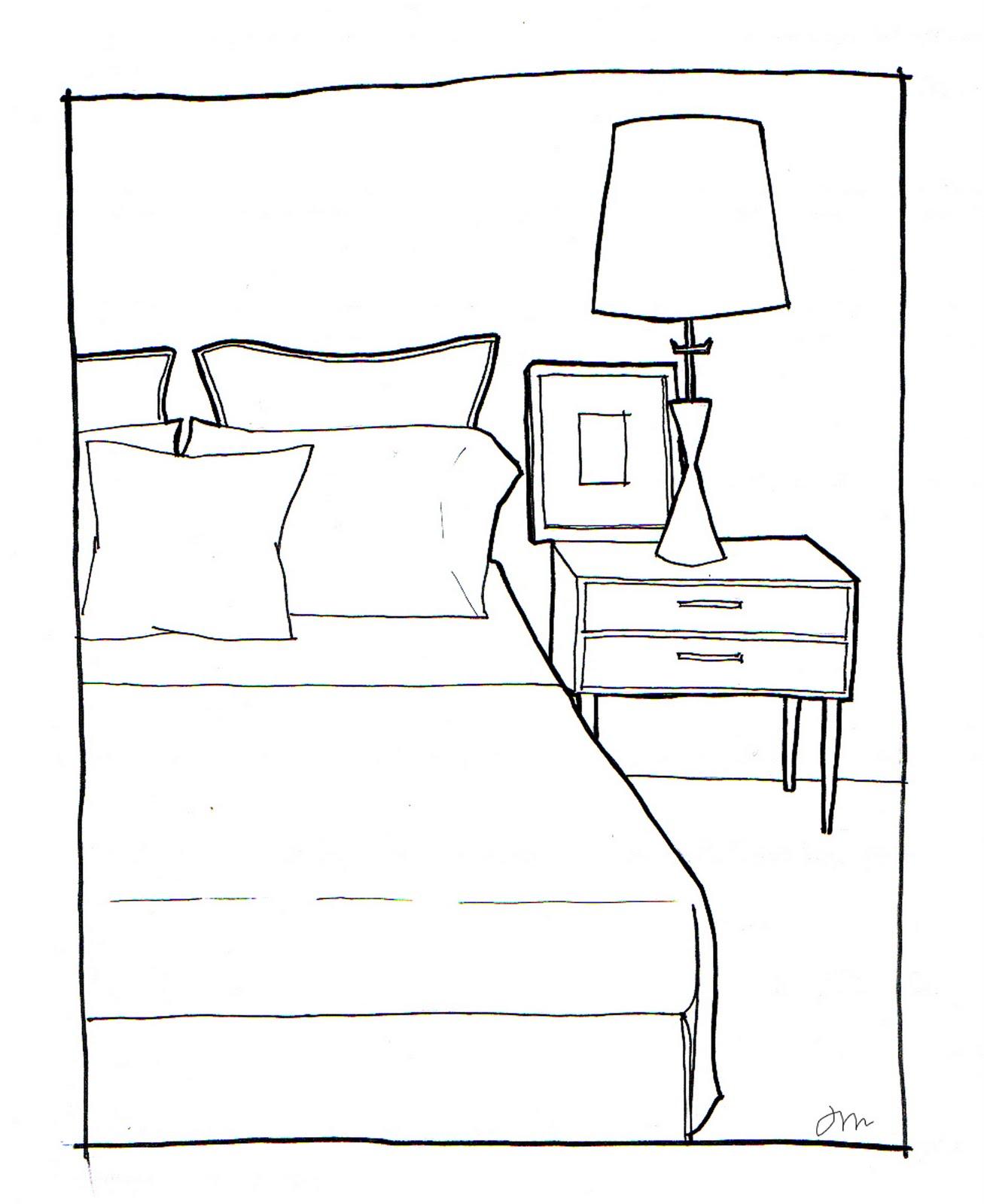 Clipart Bedroom