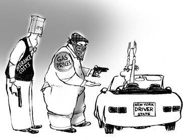 O roubo nos combustiveis