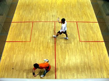 Varias pistas de Squash