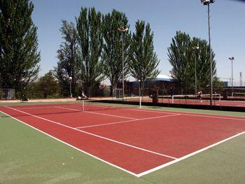 Varias pistas de tenis