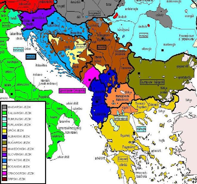 South Slavic languages