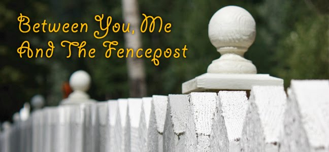 Between You, Me and The Fencepost