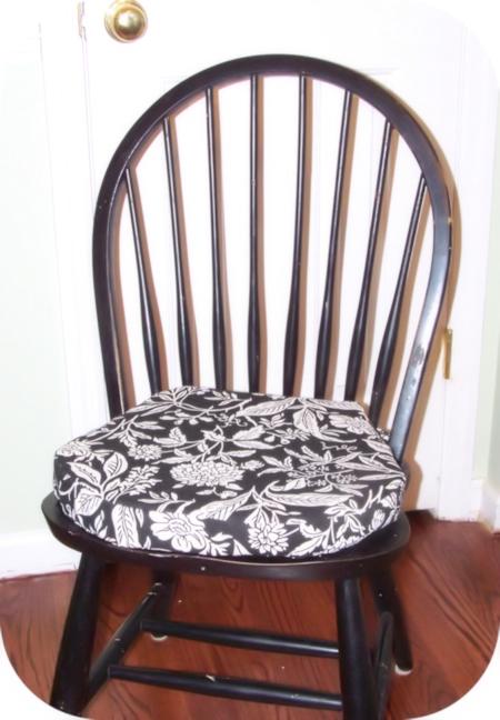 DIY Chair Cushions  HomeSpunThreads
