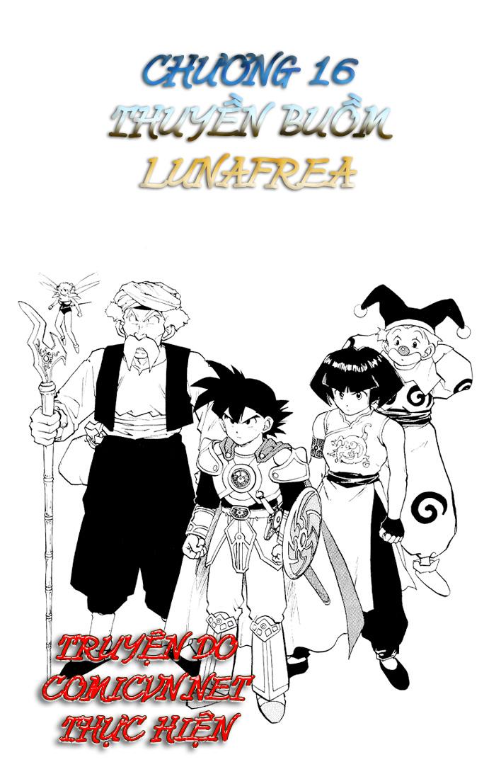 Dragon Quest: Emblem of Roto chapter 16 trang 1