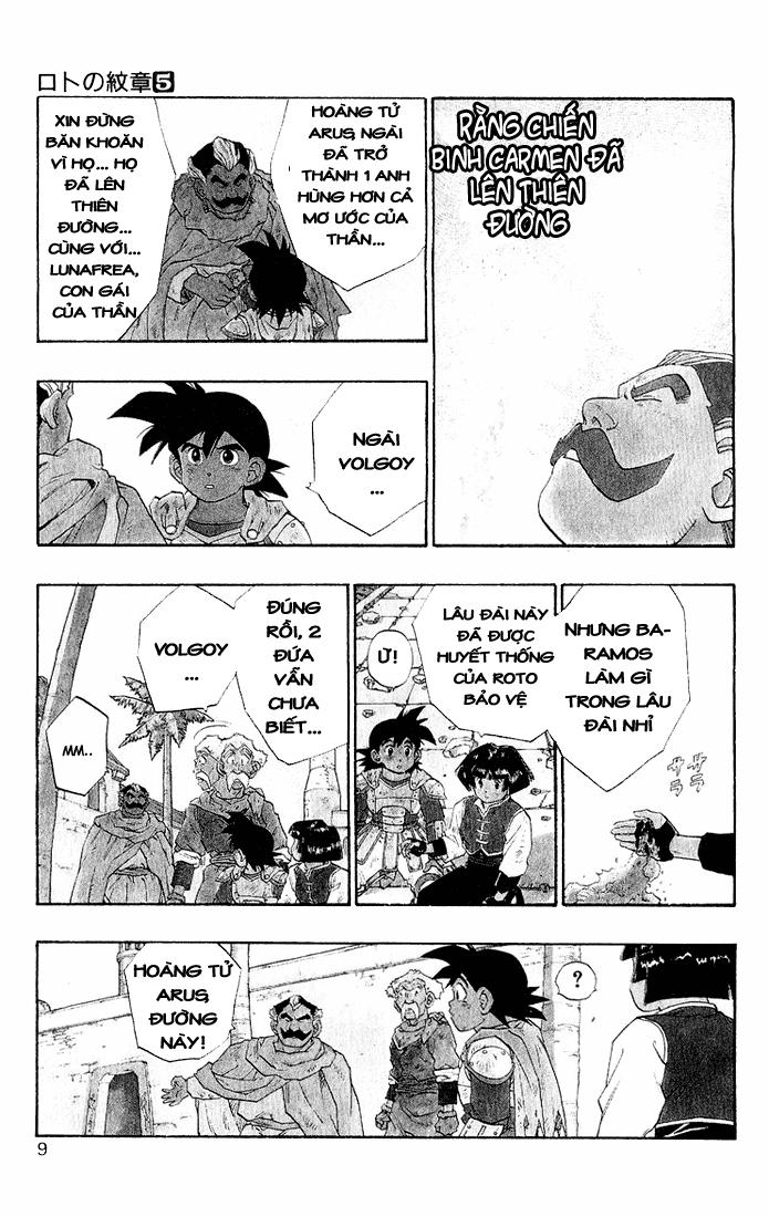 Dragon Quest: Emblem of Roto chapter 15 trang 19