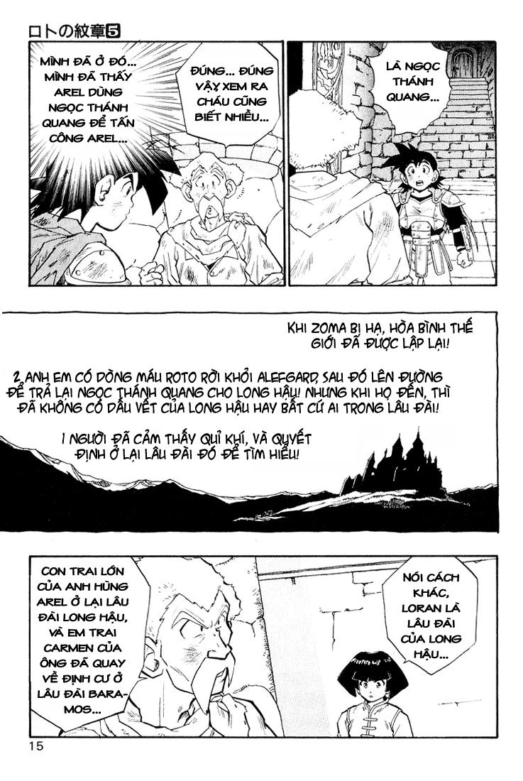 Dragon Quest: Emblem of Roto chapter 15 trang 31
