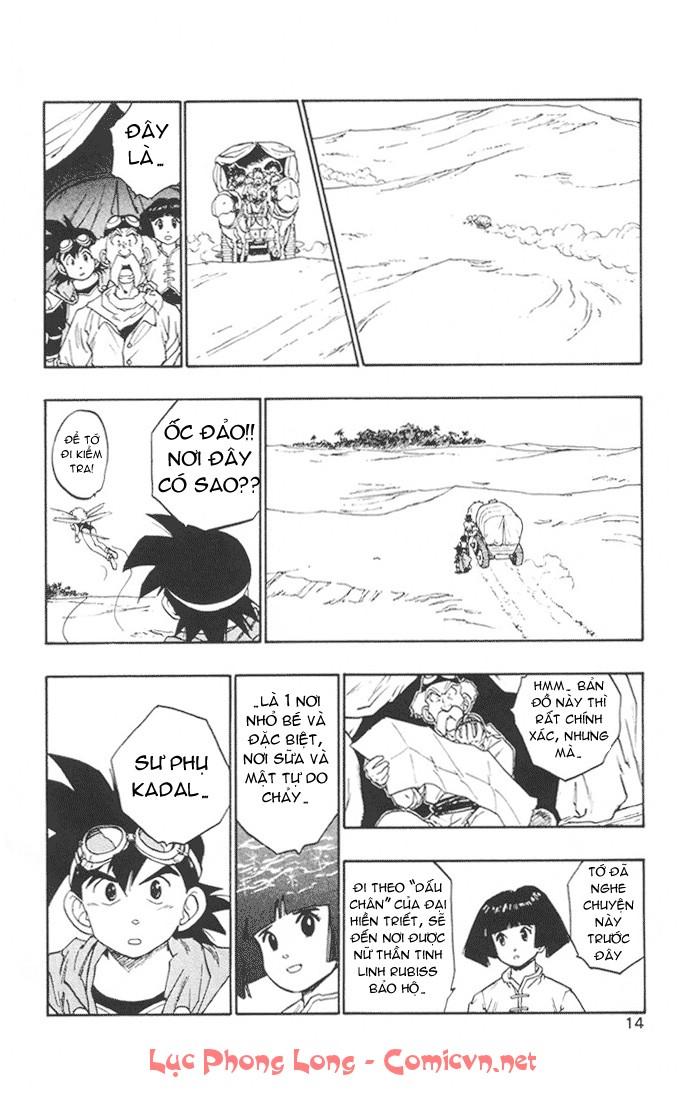 Dragon Quest: Emblem of Roto chapter 12 trang 15