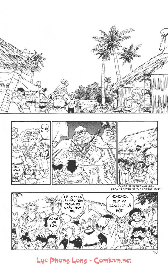 Dragon Quest: Emblem of Roto chapter 12 trang 19