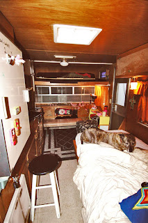Vintage Trailer Resort >> Untamed Art Blog: 1964 Kenskill Travel Trailer
