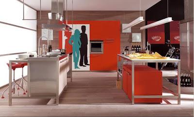 ambientacion cocina moderna doca