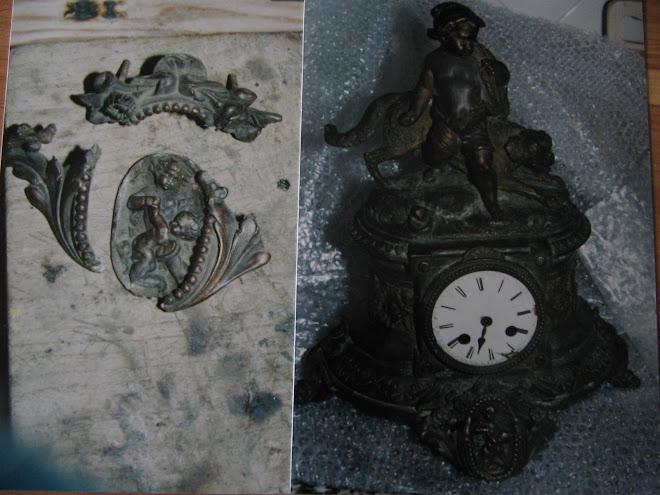 Relogio Séc.XVIII/XIX(bronze d`art)