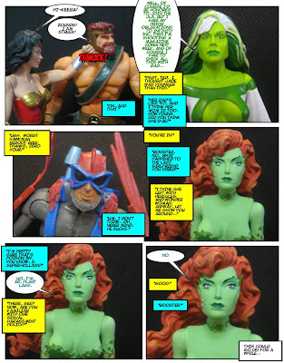 How many green women action figures do I have?  Um...definitely not a weird amount.  Yeah.