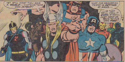 Man, Thor was always shouting 'perverted science' at something:  Ultron, Kang, Iron Man...