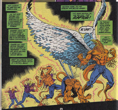 Even though Raptor's not a bad time, you just know people would be shouting out Birdman, Hawkman, Big Bird...