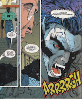 Morbius' nose seems to come and go, just like the art teams for this book.