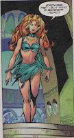 Why did Mera shed her dress?