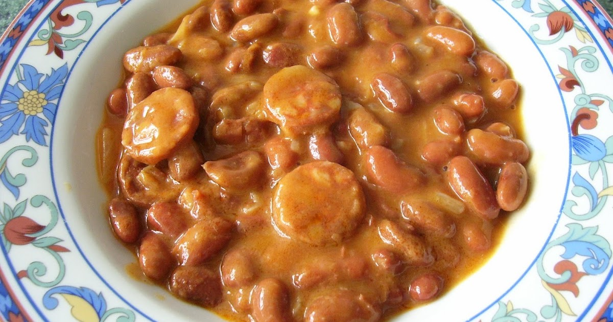 Las recetas de peepa judias pintas con chorizo - Judias pintas con manitas ...