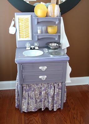 Little Inspirations: DIY Play Kitchen