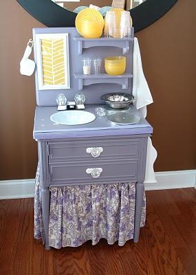 Little Inspirations: DIY Play Kitchen
