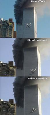 carmen taylor michael hezarkhani wtc impact video photo 911 new york terror attacks
