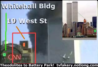 CNN plane crash wtc tv fakery noplane hezarkhani amateur video 911 footage