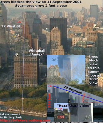 tv fakery battery park 911 terrorist attacks cnn video forgery psyops cia mossad mi6 oni jcs