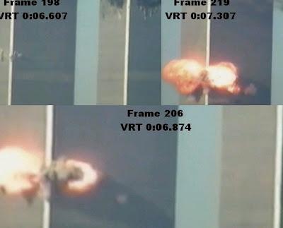 wtc impact ua175 911 missile hologram theory