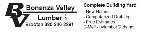 Bonanza Valley Lumber