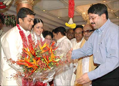 Celebrity Marriage Pictures: South Actors Surya and ...