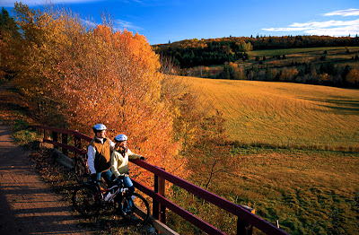 Confederation Trail in Fall