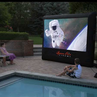 Outdoor Backyard Movies in Waite Park, Minnesota