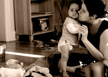 Olivia with Momma