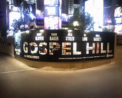 Gospel Hill poster at Cannes Film Festival 2007
