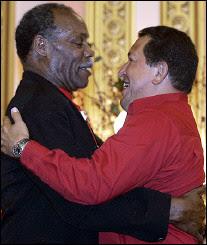 Danny Glover & Hugo Chavez