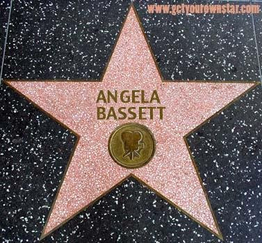 Angela Bassett to receive Star in 2008
