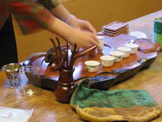 photo of Chinese tea ceremony equipment