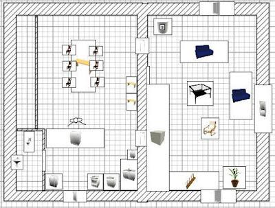 plan wc cuisine